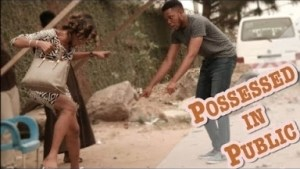 Video: Zfancy Tv Comedy - Possessed Public Strangers Gone wrong (African Pranks)